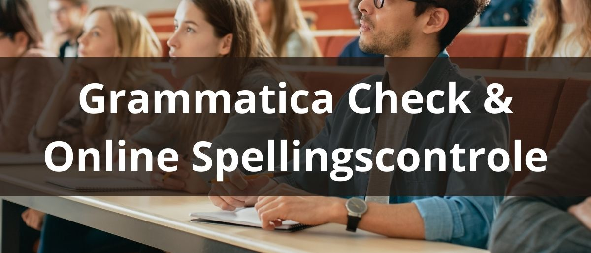 Grammatica Check & Online Spellingscontrole
